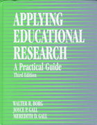 Applying Educational Research 3rd edition 9780801304866 0801304865