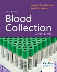 Blood Collection 3rd Edition 9780803657892 0803657897