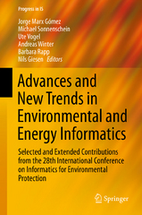 Advances and New Trends in Environmental and Energy Informatics 1st Edition 9783319234557 3319234552