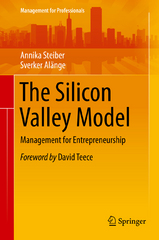 The Silicon Valley Model 1st Edition 9783319249216 3319249215