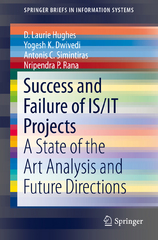Success and Failure of IS/IT Projects 1st Edition 9783319230009 331923000X