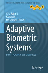 Adaptive Biometric Systems 1st Edition 9783319248653 3319248650
