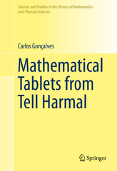 Mathematical Tablets from Tell Harmal 1st Edition 9783319225241 3319225243