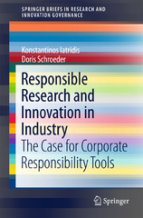 Responsible Research and Innovation in Industry 1st Edition 9783319216935 3319216937
