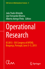 Operational Research 1st Edition 9783319203287 3319203282