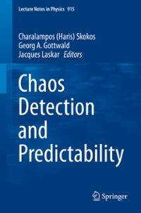 Chaos Detection and Predictability 1st Edition 9783662484104 3662484102