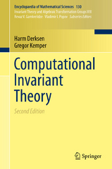 Computational Invariant Theory 2nd Edition 9783662484227 3662484226
