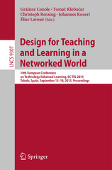 Design for Teaching and Learning in a Networked World 1st Edition 9783319242583 331924258X