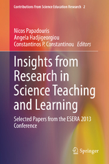 Insights from Research in Science Teaching and Learning 1st Edition 9783319200743 3319200747