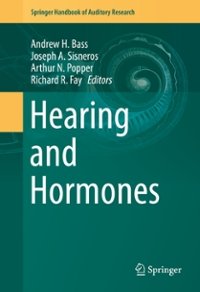 Hearing and Hormones 1st Edition 9783319265971 3319265970