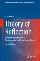 Theory of Reflection 2nd Edition 9783319236278 331923627X