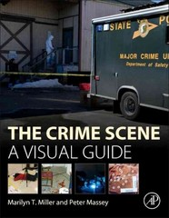 The Crime Scene 1st Edition 9780128012451 0128012455