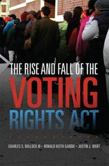 The Rise and Fall of the Voting Rights Act 1st Edition 9780806152004 0806152001