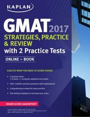 GMAT 2017 Strategies, Practice & Review with 2 Practice Tests 1st Edition 9781506203195 1506203191