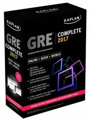 GRE Complete 2017 1st Edition 9781506203874 1506203876
