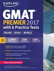 GMAT Premier 2017 with 6 Practice Tests 1st Edition 9781506203218 1506203213