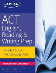 ACT English, Reading, & Writing Prep 3rd Edition 9781506209050 150620905X