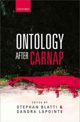 Ontology after Carnap 1st Edition 9780199661985 0199661987