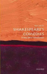 Shakespeare's Comedies: A Very Short Introduction 1st Edition 9780191034954 0191034959