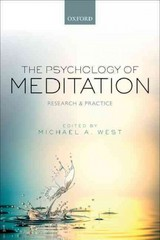 The Psychology of Meditation 2nd Edition 9780191002779 0191002771