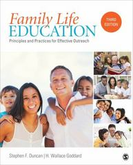 Family Life Education 3rd Edition 9781483384573 1483384578