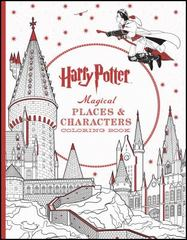 Harry Potter Magical Places and Characters Coloring Book 1st Edition 9781338030013 1338030019