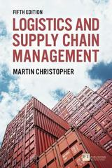 Logistics & Supply Chain Management 5th Edition 9781292083797 1292083794