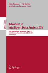 Advances in Intelligent Data Analysis XIV 1st Edition 9783319244655 3319244655