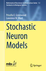 Stochastic Neuron Models 1st Edition 9783319269115 3319269119
