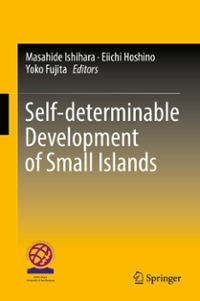 Self-determinable Development of Small Islands 1st Edition 9789811001321 9811001324
