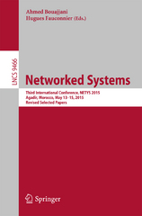 Networked Systems 1st Edition 9783319268507 3319268503