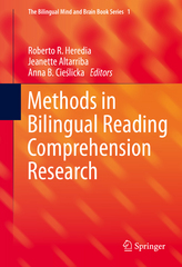 Methods in Bilingual Reading Comprehension Research 1st Edition 9781493929931 1493929933
