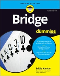 Bridge For Dummies 4th Edition 9781119247821 1119247829