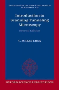 Introduction to Scanning Tunneling Microscopy 2nd Edition 9780198754756 0198754752