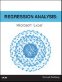 Regression Analysis Microsoft Excel 1st Edition 9780789756558 0789756552