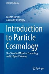 Introduction to Particle Cosmology 1st Edition 9783662480786 3662480786