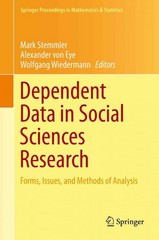 Dependent Data in Social Sciences Research 1st Edition 9783319205854 3319205854
