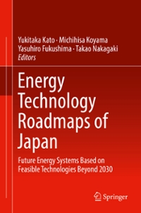 Energy Technology Roadmaps of Japan 1st Edition 9784431559511 4431559515