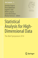 Statistical Analysis for High-Dimensional Data 1st Edition 9783319270999 3319270990