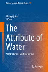 The Attribute of Water 1st Edition 9789811001802 9811001804