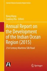 Annual Report on the Development of the Indian Ocean Region(2015) 1st Edition 9789811001666 9811001669