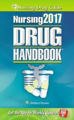 Nursing2017 Drug Handbook 37th Edition 9781496322555 149632255X