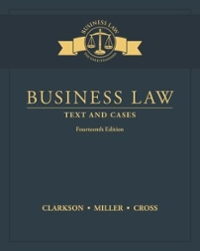 Business Law 14th Edition 9781305967250 1305967259