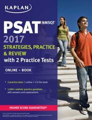 PSAT/NMSQT 2017 Strategies, Practice & Review with 2 Practice Tests 1st Edition 9781506202266 1506202268