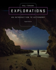 Explorations:  Introduction to Astronomy 8th Edition 9780073513911 0073513911