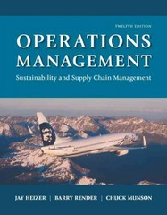 Operations Management 12th Edition 9780134130422 0134130421