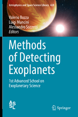 Methods of Detecting Exoplanets 1st Edition 9783319274584 3319274589