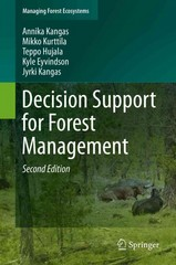 Decision Support for Forest Management 2nd Edition 9783319235226 3319235222