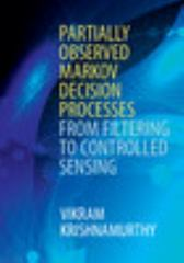Partially Observed Markov Decision Processes 1st Edition 9781107134607 1107134609