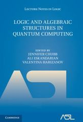 Logic and Algebraic Structures in Quantum Computing 1st Edition 9781107033399 110703339X